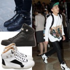 Korean star EXO · international celebrities style shoes items | GVC st.Tyson high top sneakers (2colors)