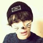 * EXO Siu Ming, SHINEE Temin, VIXX ene, Leo, MBLAQ Chondo~un, A-pink Son Na-eun style! XXX patch logo beanie