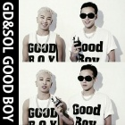 ★DAY SHIPPING★GD & Teyankorabo new song [GOOD BOY] items were worn in MV! GOOD BOY / short-sleeved T-Shirts[BIGBANG][GOODBOY]