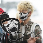BIGBANG, BEAST, INFINITE, BAP ··· Korea idle fashion item ☆ UNIQUE CHIC FASHION MASK / Fashion mask
