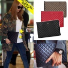 KARA items |. Of Korea idle KARA Hara Airport Fashion items Cha *** st simple quilting clutch bag (3color)