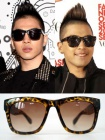 sol sunglasses ▼ ksubi ** Leopard / two-tone sunglasses