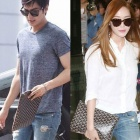 Girls Jessica & lily, Lee Min Ho, Lee Young Hee ... Korea brand items are loved by popular talent! High quality material Goya * st. Pattern Clutch Bag (9color)