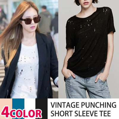 SNSD Jessica, Kim Yu-ri, F crystals such as K-POP Idol and South Korea have been put on a topic item! VINTAGE PUNCHING T-SHIRTS