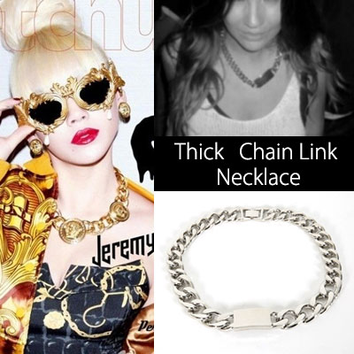 Now, the big chains in CL or hot items of the World Fashion Cell Rev 2ne1 flat link necklace, bracelet