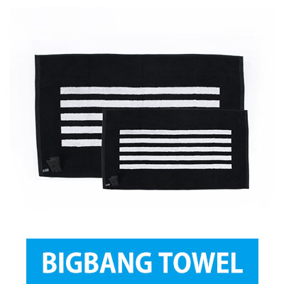 "The official BIGBANG goods [TOWEL] BIGBANG 2015 WORLD TOUR ""MADE"" (BIG SIZE, MINI SIZE)"