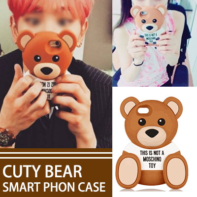 ★ 全機種入荷完了★SHNEE KEY, SNSD Taeyeon, Tiffany also among favorite! ! CUTY BEAR SMART PHON CASE