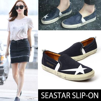 SNSD Jessica airport fashion style! SEASTAR SLIP-ON (230 ~ 270mm)