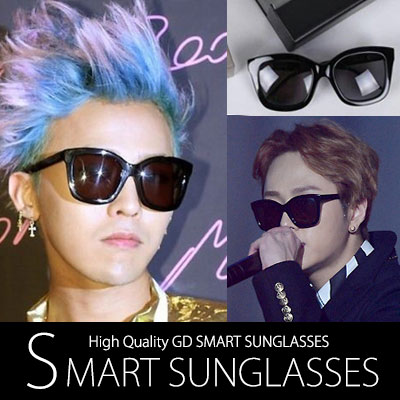 G-DRAGON Hyun of South Korea INFINITE such essential fashion item star! Smart Sunglasses