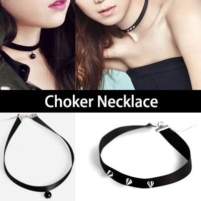 South Korea popular drama [Producer] heroine Gong Hyo-jin & IU-style choker! / Choker Necklace
