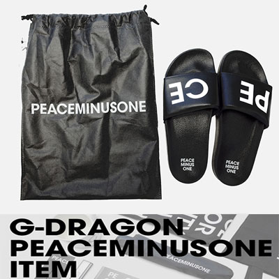 G-DRAGON of BIGBANG goods PEACEMINUSONE SLIPPER