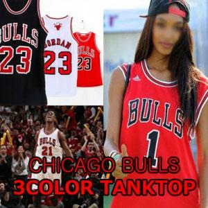 street fashion style! BULLS 23 mesh tank top! (3COLOR) sleeveless / mesh tank top /