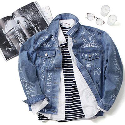 seasonal item! Casual demin jacket