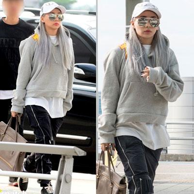 ★ 2EN1 CL Airport Fashion ★BIGBANG MADE SERIES [E] SOL Taeyang STYLE! Shoulder point print oversize Hoodie / SHOUDER FIRE PRINT OVERSIZE HOODIE-copy