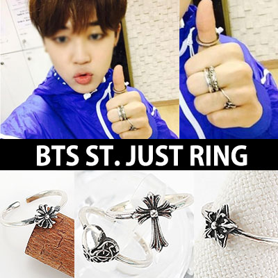 "BTS Bangtan Boys STYLE! Vintage design is attractive "" just RING"" / BTS HALF & HALF HEXAGON"