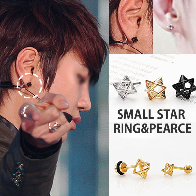 South Korea popular idol INFINITE style! Simple and stylish ring Inter mid ring / INFINITE STYLE! INTERMIT RING
