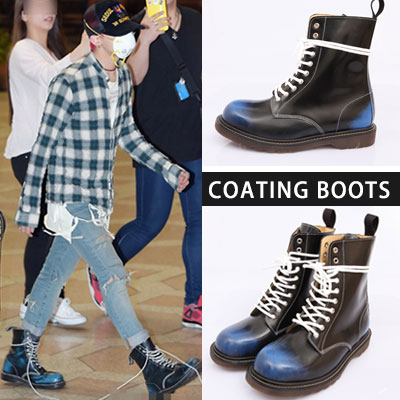The world fashion icon G-DRAGON's favorite item! Event venue , BIGBANG [LOSER] MV, airport fashion STYLE! Coating boots