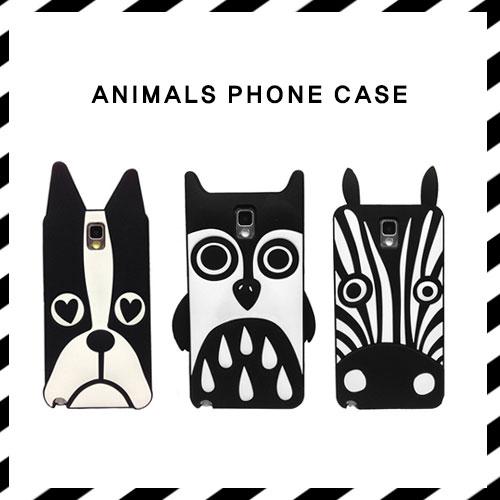 ANIMALS PHONE CASE(HORSE, DOG, OWL)
