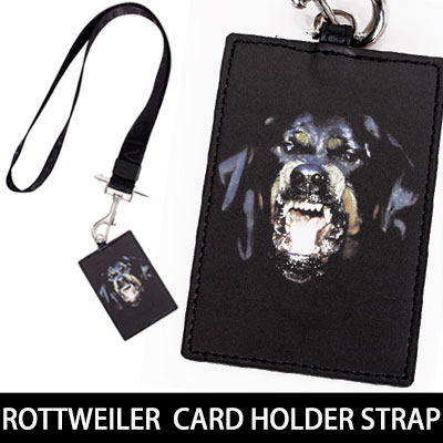 ROTTWEILER  CARD HOLDER STRAP