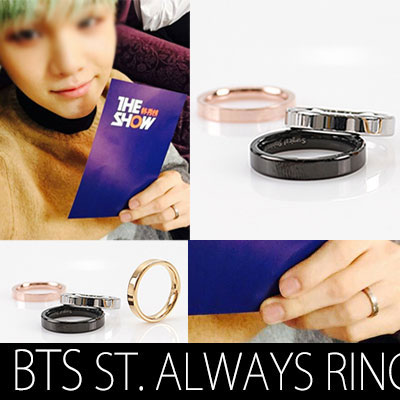 BTS STYLE!SURGICAL STEEL ALWAYS RING