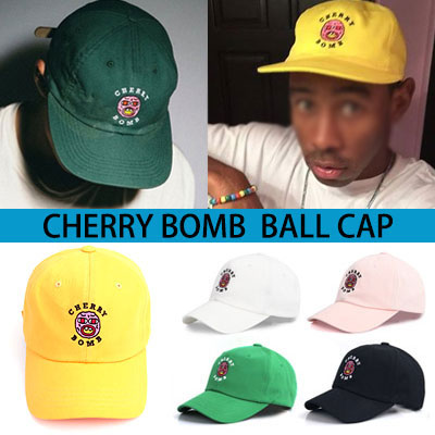 CHERRY BOMB BALL CAP(6COLOR)