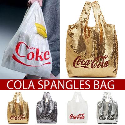 Glitter! Cola logo Spangles bag COLA SPANGLES BAG