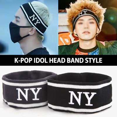 [WINNER Sonminho FASHION!] NY logo head band! STAGE COSTUME