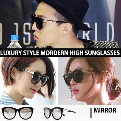 [BIGBANG G-DRAGON, Jeon Ji Hyun, Lee Yo Won, Jeong Ryeo Won STYLE!] Modern high mirror sunglasses