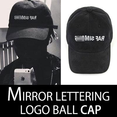 LUXURY LOGO MIRROR VER.LETTERING BALL CAP