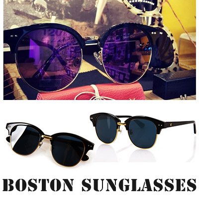 Boston sunglasses/ unique frame sunglasses