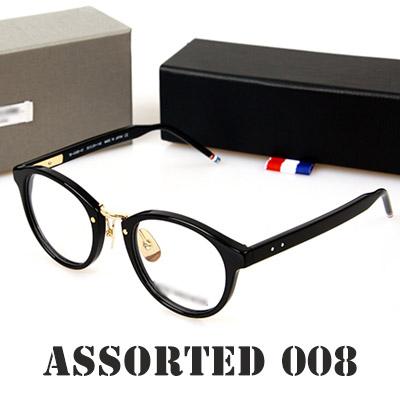 Assorted 008 glasses / eyewear / Men / Women / glasses / fashionable glasses (BLACK)