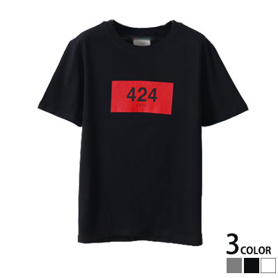 ★★30%OFF SALE★★424 NUMBER IN A BOX SHORT SLEEVED T-SHIRT