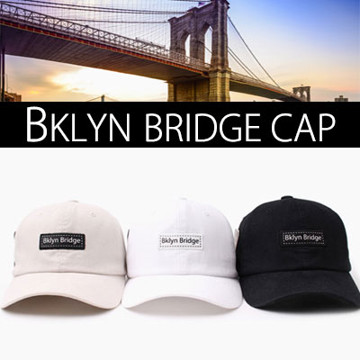BKLYN BRIDGE  BOX BALL CAP