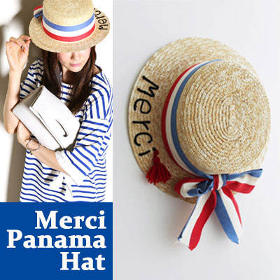 PARISIAN! MERCI PANAMA HAT