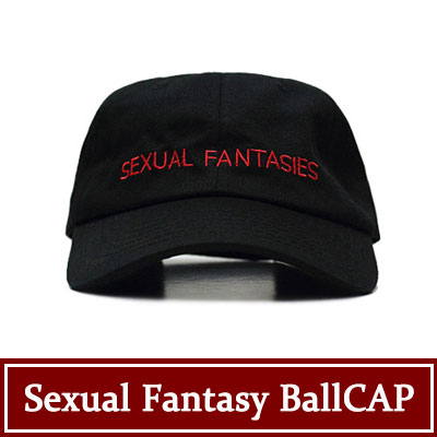SEXUAL FANTASY BALLCAP (RED AND BLACK COLOR)