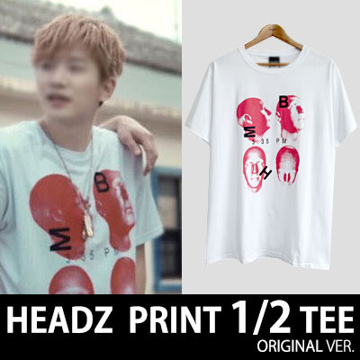 ★40%SALE★2PM,ASIAN PRINCE JANG KEUN-SUK,BTS STYLE!★ HEADZ SHORT SLEEVED T-SHIRTS