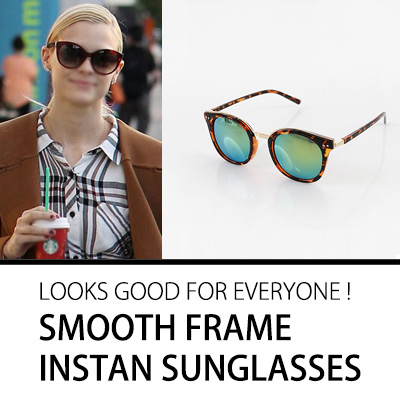 LOOKS GOOD ON EVERYONE! SMOOTH FRAME INSTAN SUNGLASSES