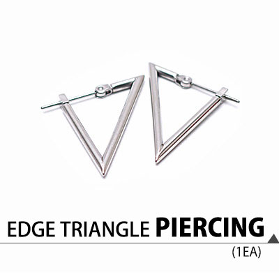 EDGE TRIANGLE PIERCING(1EA)