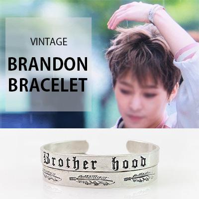 [K-POP IDOL EXO STYLE] VINTAGE BRANDON BRACELET(2TYPE)
