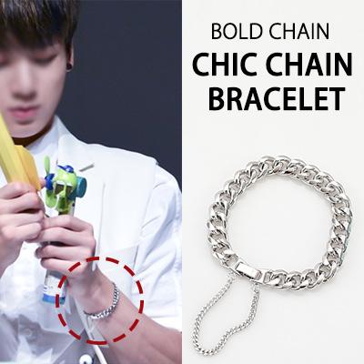 [BTS STYLE!]BOLD CHAIN CHIC CHAIN BRACELET