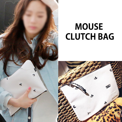 [K-POP IDOL SNSD STYLE] MOUSE CLUTCH BAG