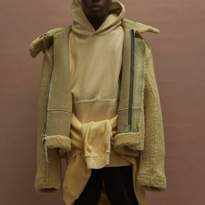 KANYE WEST STYLE!OVER FIT SIZE HOODIE