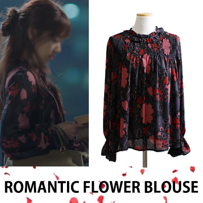 DOCTORS PARK-SHINHYE FASHION/ROMANTIC FLOWER BLOUSE