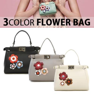 3COLOR FLOWER BAG