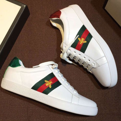 BEE AND GREEN&RED STRIPE SNEAKERS
