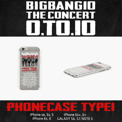 【OFFICIAL GOODS】BIGBANG OFFICIAL GOODS SMARTPHONE CASE TYPE1(iPhone、Galaxy)/iPhone CASE/Galaxy CASE