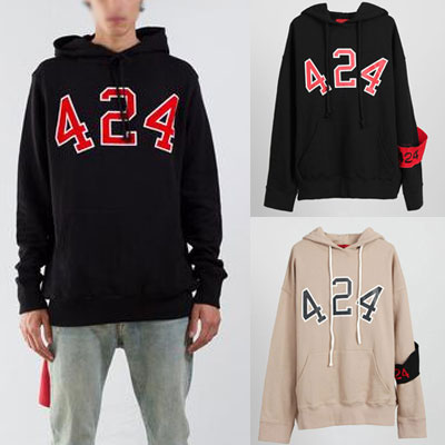 (INCLUDE ARM BAND)NUMBERING LOGO HOODIE