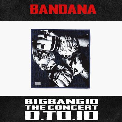 【OFFICIAL GOODS】BIGBANG 10 ANNIVERSARY OFFICIAL GOODS!BIGBANG BANDANA
