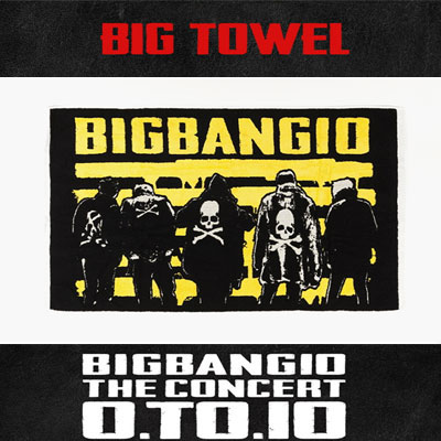 <OFFICIAL GOODS><<BIGBANG MADE>>[10th]BIGBANG BIG TOWEL/CONCERT GOODS