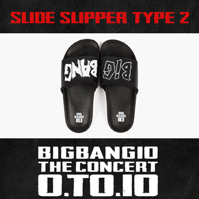 BIGBANG OFFICIAL GOODS SLIDE SLIPPER